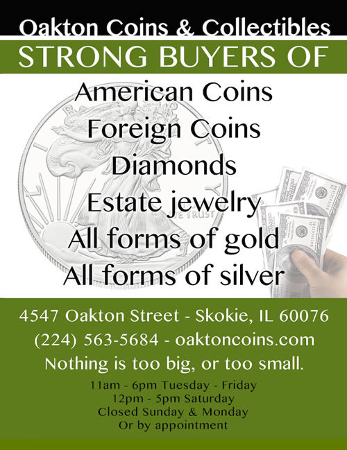 coin shop skokie